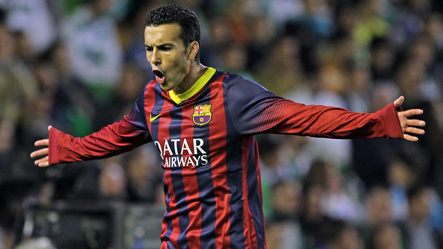 Pedro details away from joining Manchester United
