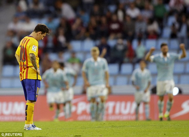Messi's Barcelona are struggling as a team to score goals this season and the star has been misfiring.