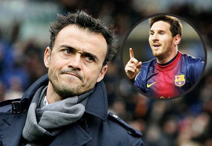Messi's Inury change our style – Luis Enrique