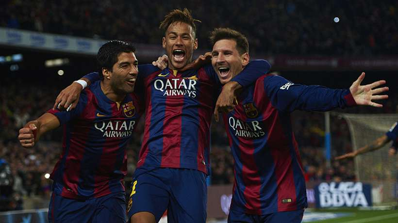 Kluivert labels Barca trio better than Madrid's