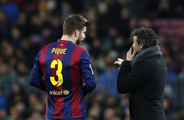 Enrique believes that Pique deserves to be in Ballon d'Or list