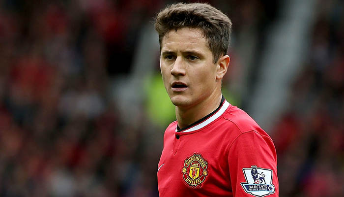 MANCHESTER, ENGLAND - AUGUST 16: Ander Herrera of Manchester United in action during the Barclays Premier League match between Manchester United and Swansea City at Old Trafford on August 16, 2014 in Manchester, England. (Photo by Matthew Peters/Man Utd via Getty Images)
