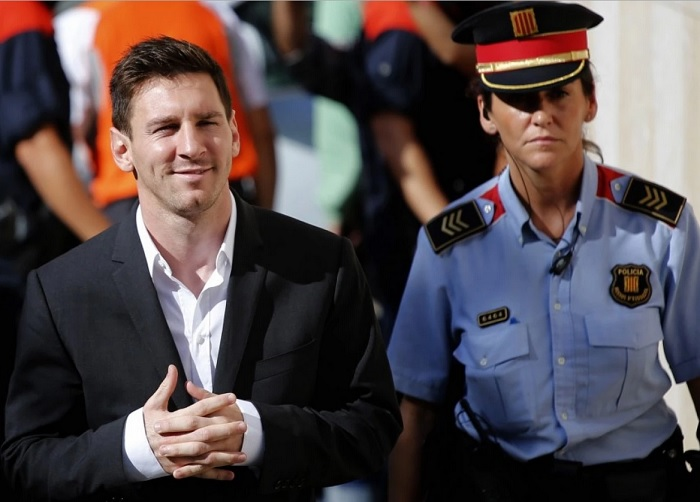 Messi cleared off tax fraud charges