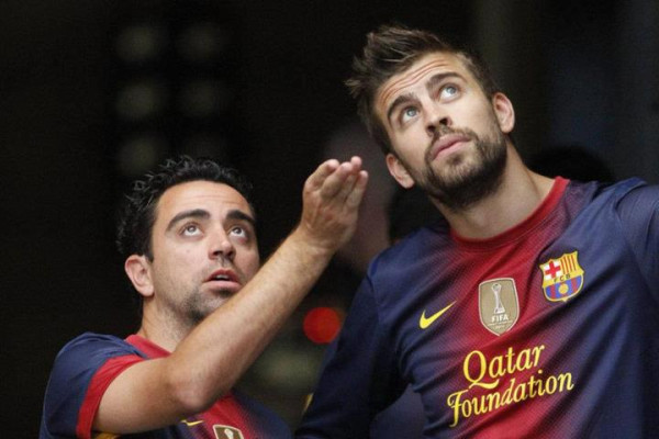 Xavi urges fans to stop booing Pique