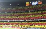 "UEFA allow Barcelona to show ""Respecte"" banner against BATE"