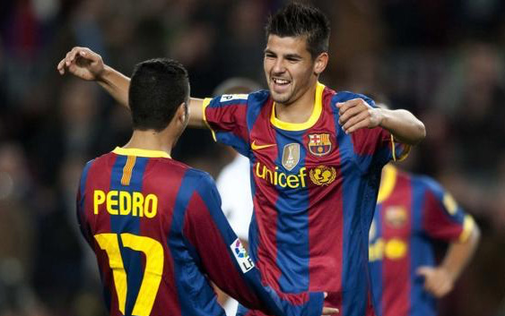FC Barcelona identified Nolito as a suitable replacement for Pedro