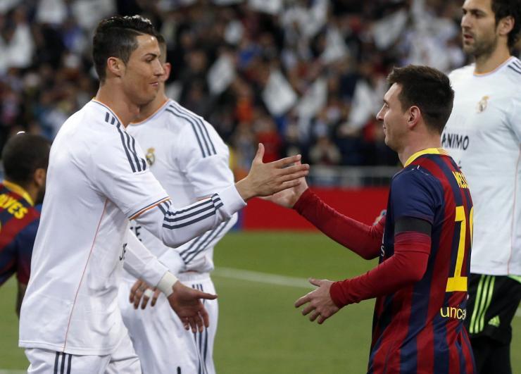 Lionel Messi: I don't compete against Cristiano Ronaldo