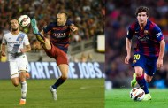 Iniesta and Sergi Roberto cleared to face Getafe
