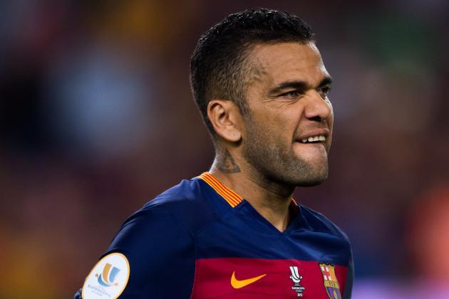Alves will be suspended against Bayern Leverkosen