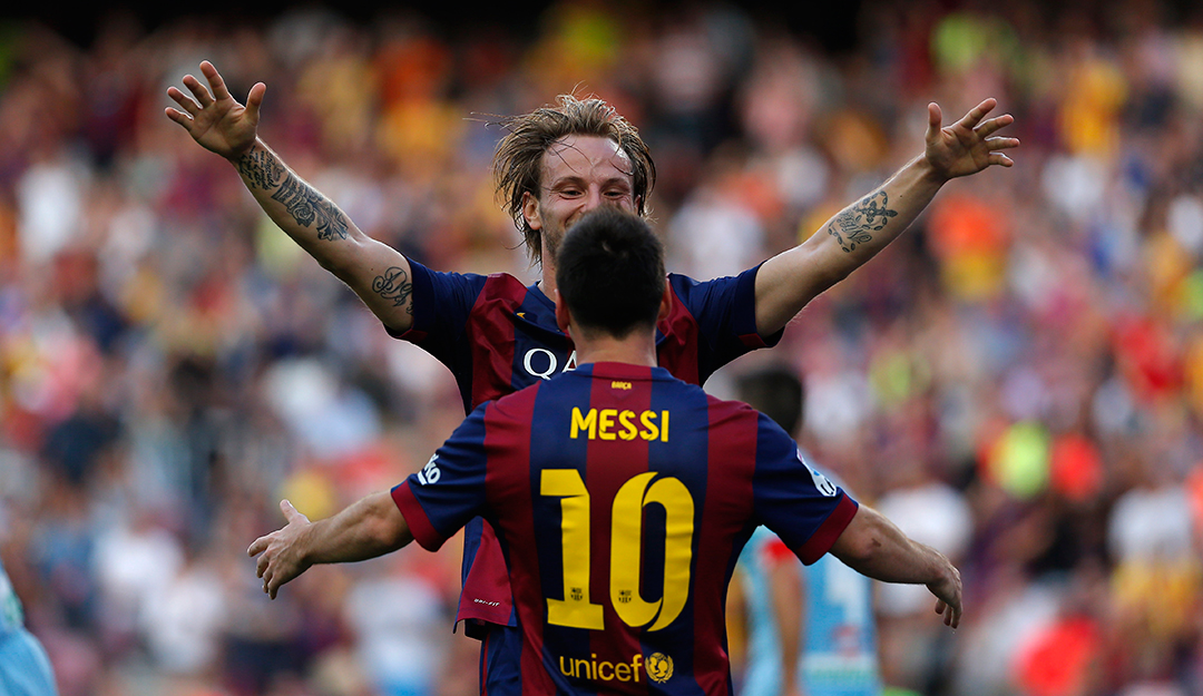 Messi and Rakitic named in Barcelona squad