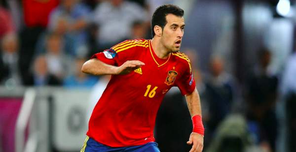 Busquets did not train because of injury precaution