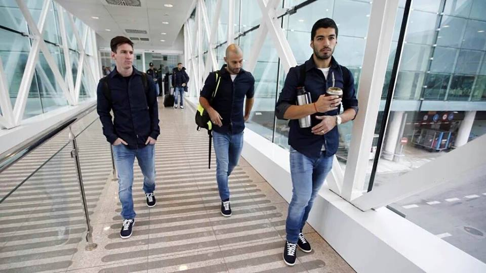 The FC Barcelona heads to Cologne