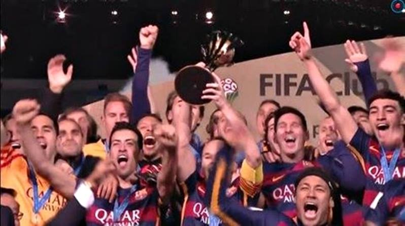 FC Barcelona Club World Cup 2015 Champions