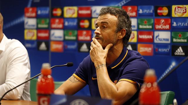 Enrique conference for Leverkusen clash