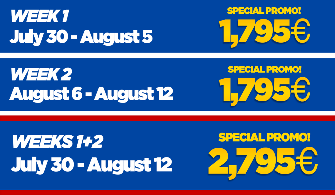 FCB Camp Prices