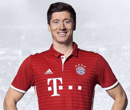 9 Robert Lewandowski