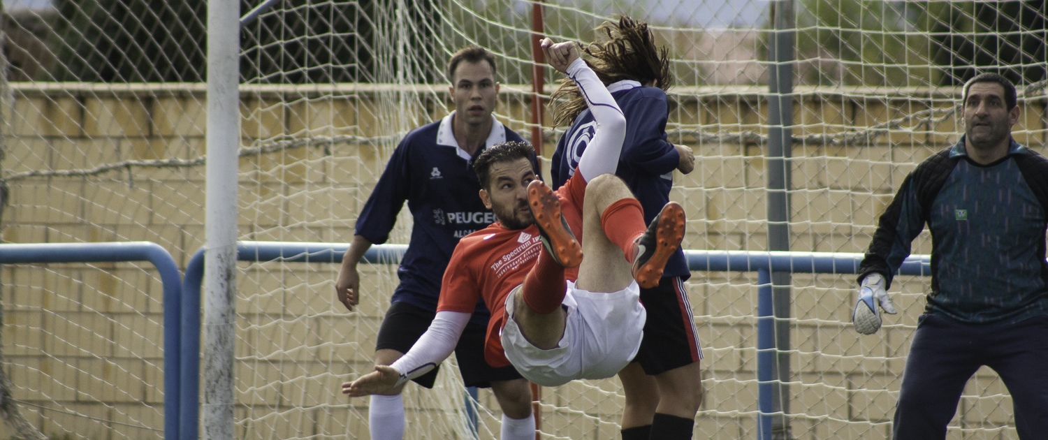 FCB midfielder Luigi Bosetti with his impressive bicyle kick against Bar el Trampolin