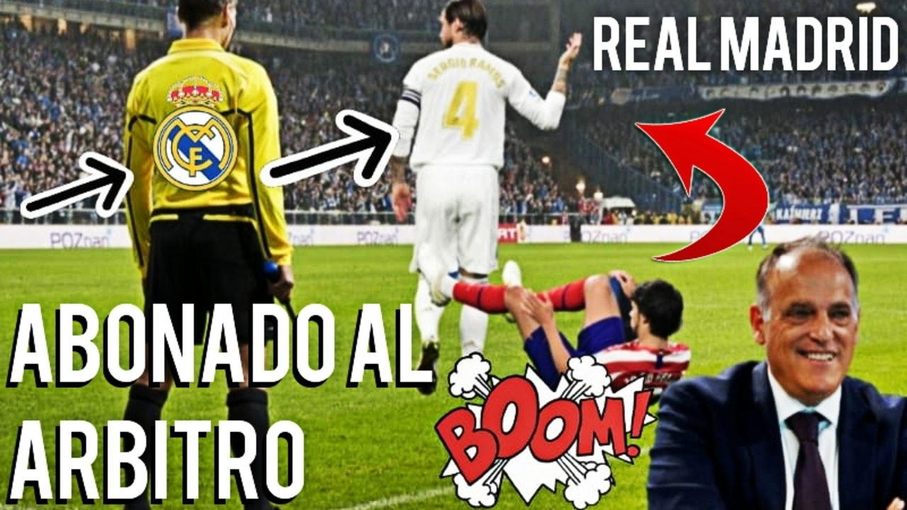 real madrid abonado al arbitro