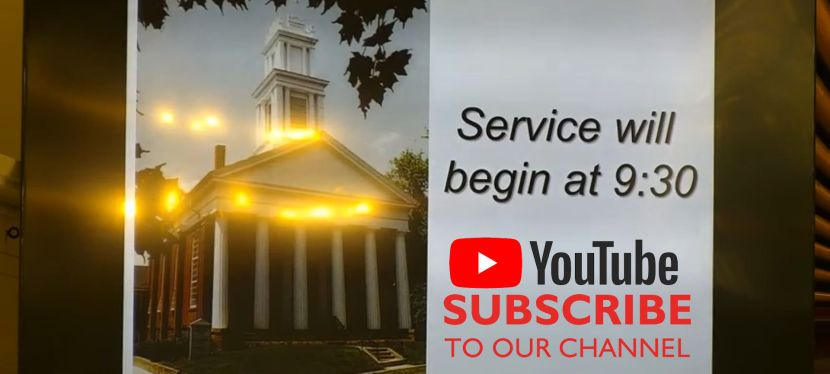 View live streams of sermons