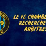 Le FC Chambly Oise recherche des arbitres !