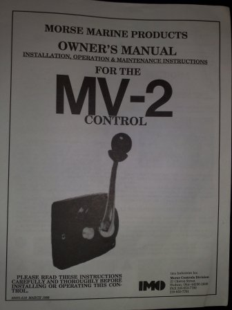 Manopola controllo MV-2