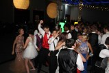 Students dance as the music intensifies at prom. Photo by Alaina King.