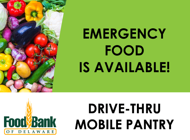 Food Bank of Delaware - Food is Available Poster