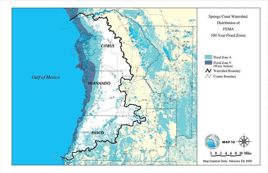 Flood Zone Map Holiday Fl