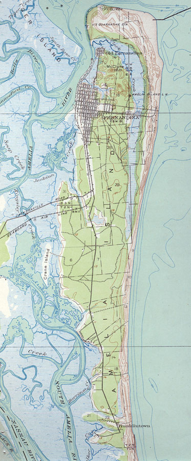 images for map of amelia island