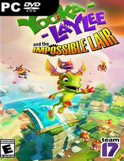 Yooka-Laylee and the Impossible Lair Crack PC Download Torrent CPY