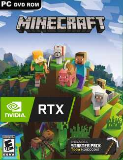 Minecraft RTX Crack PC Download Torrent CPY