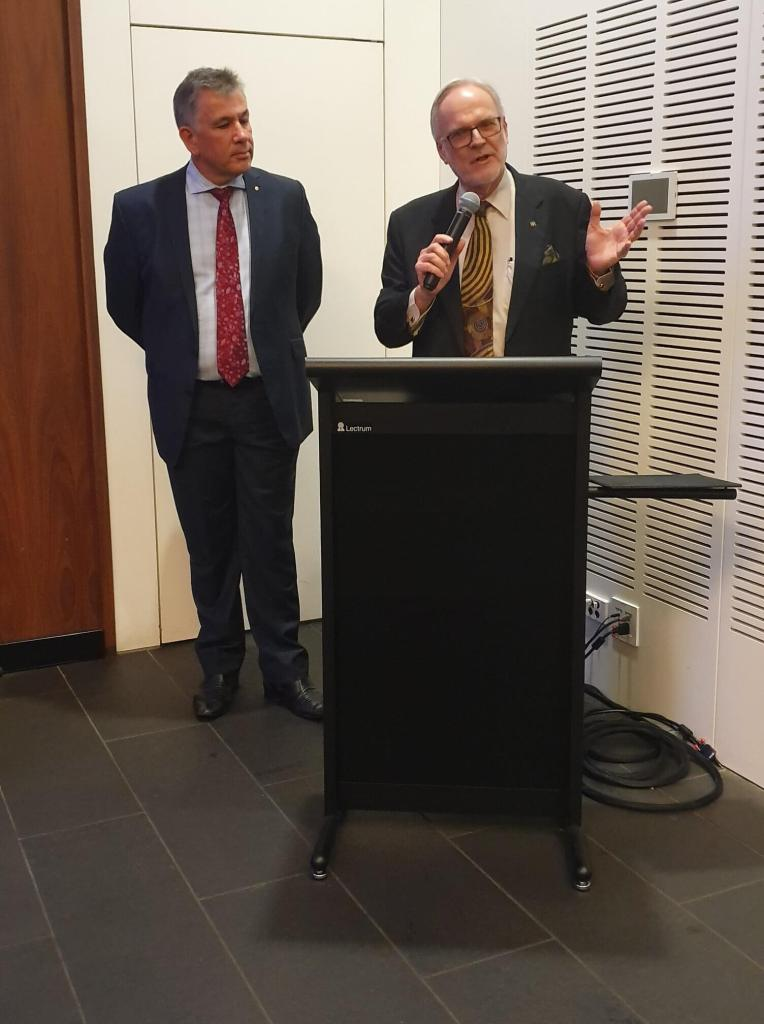 Glenn Ferguson AM Marshall Irwin The College of Law Criminal Law Conference Brisbane