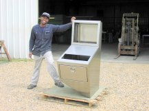 Paper Mill Custom Control Cabinet