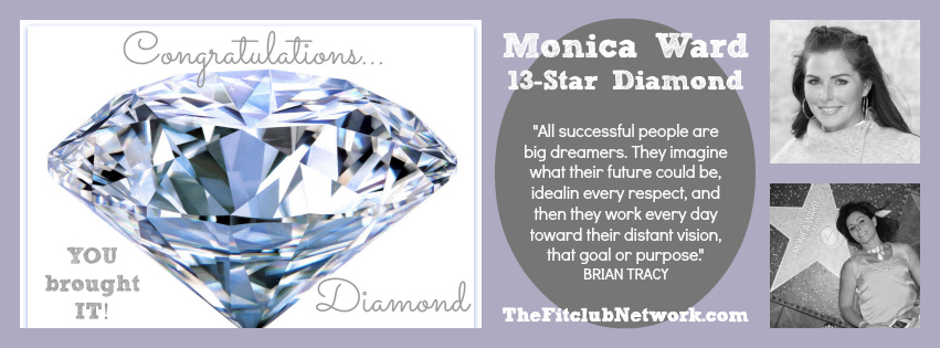 Monica Ward 13 Star Diamond Beachbody Coach