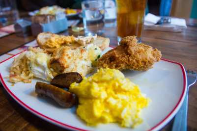 Founding Farmers brunch brings breakfast, dinner and dessert dishes together in one beautiful collection of grub. (Photo: News-Press)