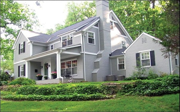 THE TORNELL HOUSE on Rosemary Lane in Falls Church received VPIS' Excellence in Design Award in 2012. (Photo courtesy VPIS)