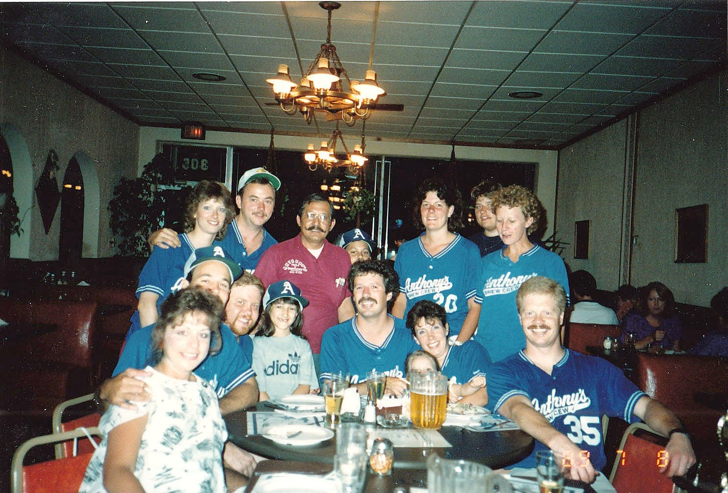 Anthony's was the home to many sports league parties during their 41 years. (Courtesy photo)