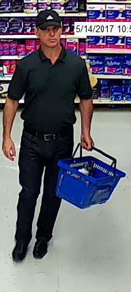 051817 Walmart Up skirting suspect 3
