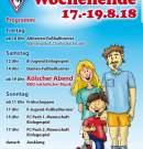 Turnierplan Kleinfeld Damen 18.08.2018