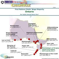 Ontario First Nation Chiefs' Wage Disparity