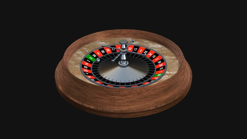 Roulette Wheel Model made with ZZSC Basic Shapes font by Sight-Creations