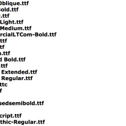 fonts in fcpx