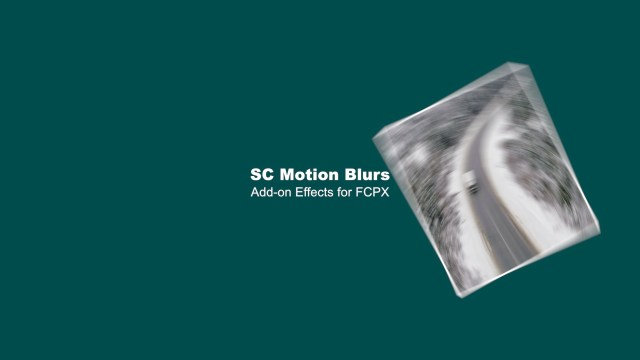SC Motion Blurs by sight-creations — FCPXTemplates.com