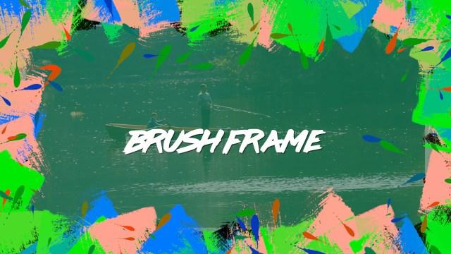 Brush Frame generator for FCPX