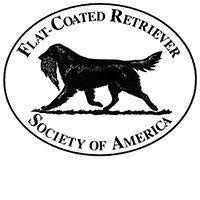 Flat-Coated Retriever Society of America logo.