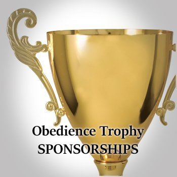 Obedience Trophy Sponsorships for store.