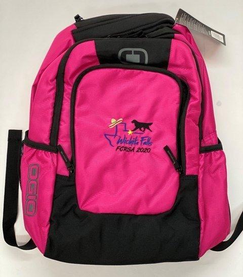 Flush Pink backpack