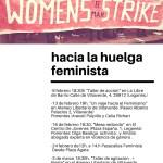 calendario 8M huelga feminista