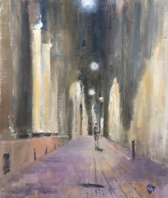 Andrew Milligan - Bologna - walking home