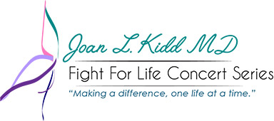 Joan L Kidd MD Fight for Life Concert Series logo